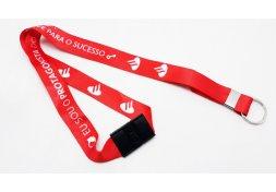 Cordão Personalizado para Crachá com Trava de Segurança