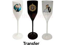 Taça Personalizada Champagne 200ml PS - Transfer