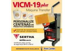 Máquina de Transfer VICM-19 PLUS
