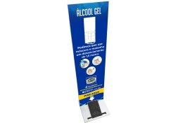 Totem Higienizador Personalizado para Álcool em Gel com Pedal